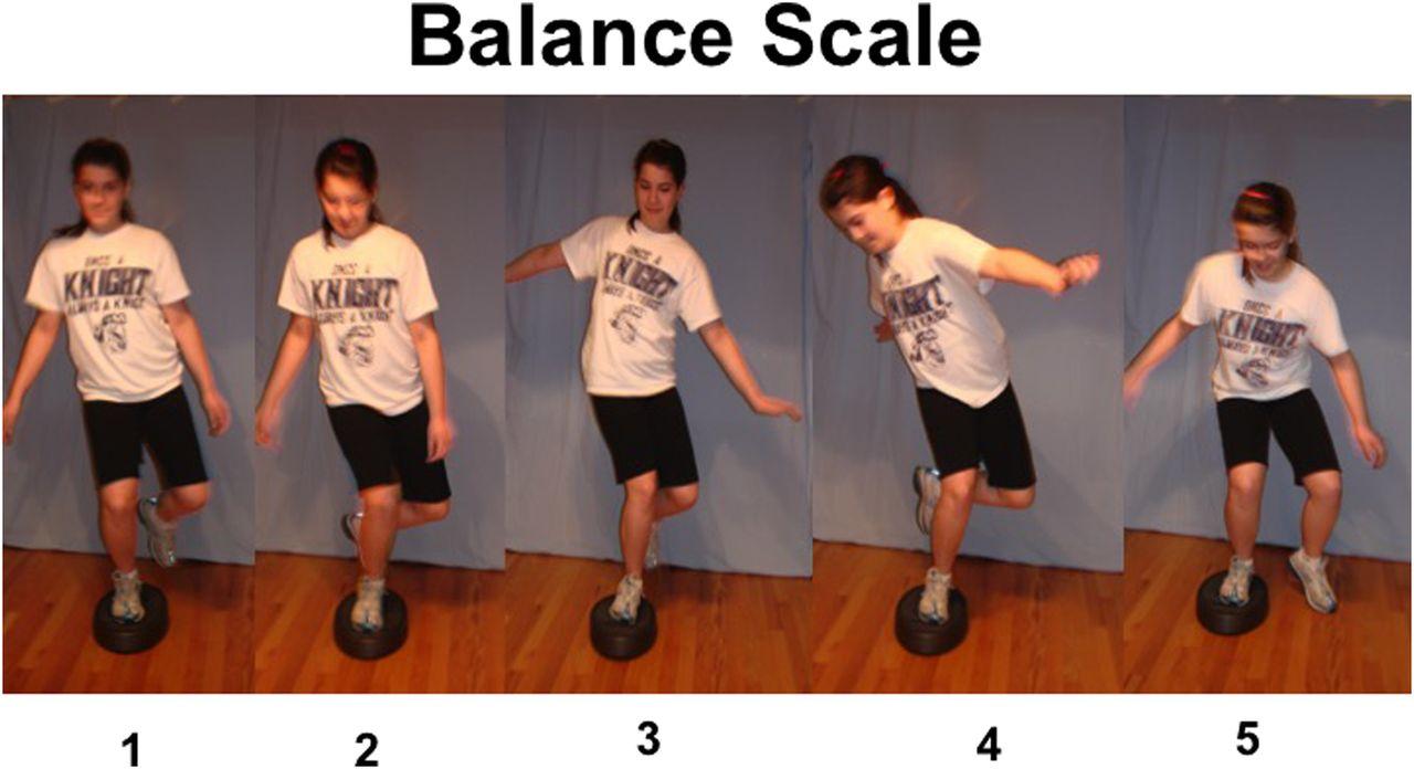 single leg stance exercises