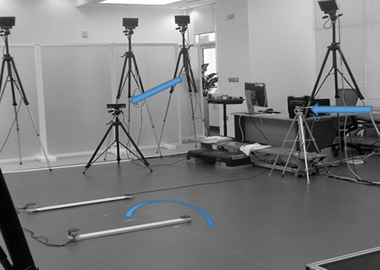 Dual Kinect v2 system can capture lower limb kinematics